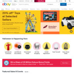 $10 off Your First Order, No Min Spend @ eBay (Mobile Users, possibly others)