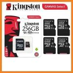 Kingston 256GB Micro SD Card $63.27. 2pcs $119.9 ($59.95 ea) + Delivery Or FREE Shipping with eBay Plus @ Shopping Square eBay