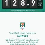 [VIC] Supreme+ 98 Fuel 128.9c Per Litre @ 7-Eleven, Ashwood