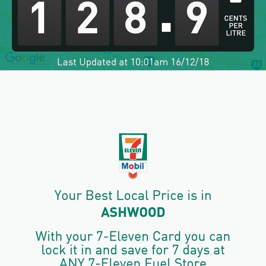 VIC] Supreme+ 98 Fuel 128 9c Per Litre @ 7-Eleven, Ashwood - OzBargain