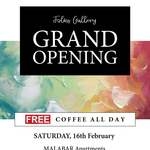 [ACT] Free Coffee @ Folks Gallery, Dickson