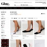 Free No-Show Socks (Black/ White) C&C using $10 Voucher via App @ Glue Store