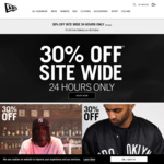 New Era 30% off All Items + Free Delivery @ New Era