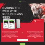 Purchase 2+/4+ Seagate IronWolf 6TB+/4TB+ HDD and Receive a LaCie 2TB/4TB Porsche Portable Drive