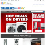 The Good Guys 20% off Storewide @ eBay (Excludes TVs)