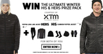 Win The Ultimate XTM Performance Winter His & Hers Prize Pack from Wild Earth
