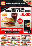 Hungry Jack's Vouchers (Valid Until 19th August 2019)