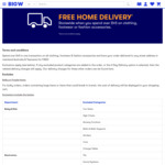 Big W - Free Home Delivery Storewide for $45 + Spend on Clothing, Footwear or Fashion Accessories