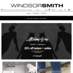 30% off Instore & Online @ Windsor Smith