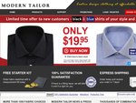 Free silk ties and cufflinks with purchase of 2 or more dress shirts.