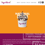[QLD, NSW, ACT] Frozen Yoghurt Cup (No Serving Size Limit) $5 @ Yogurtland