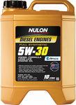 Nulon Full Synthetic Diesel Engine Oil 10L 5w-30 $74.29 @ Supercheap Auto
