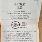 1500 Woolworths Rewards Points (Worth $7.50) for New Woolworths Rewards Customers