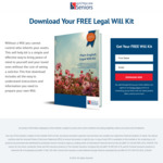 Free Legal Will Kit @ Australian Seniors
