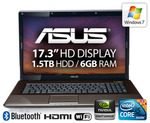 """Asus 17.3"""" i5/6GB/1.5TB/1GB GFX - $829 + $9.95 P&H [Expired]"""