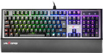 Velocifire VM90 Full RGB Gaming Mechanical Keyboard (Kailh Blue/Black Switch) US $49.99+ US $12 Shipped (~AU $88) @ Velocifire