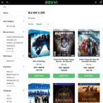 Up to 70% off Blu-Rays & DVDs @ ZAVVI