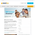 Win $5,000 Cash from Smartline