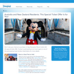 4-Day Disneyland Resort (California) Ticket for The Price of 3
