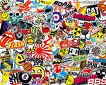 10 Full Colour Stickers up to 75MM $1.99 with Free Shipping (Was $30) @ Easy Print & Sign Co