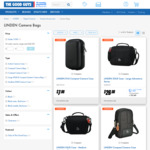 Linden Camera Bags on Clearance (Eva Compact Camera Hard Case $7 (Was $12.95) + More) C&C Only @ The Good Guys