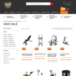 20% off 20 Essential Fitness Items+ Free Shipping over $100 @ The Fitness Warehouse