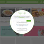 Groupon 15% Cashback @ Cashrewards (Stack with up to 30% Sitewide @ Groupon)