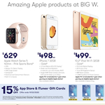 15% off iTunes Gift Cards @ BIG W