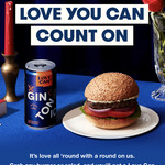 Free 'Love Can' (Gin and Tonic, Vodka Yuzu or Negroni Spritz) with Burger/Salad Purchase @ Grill'd (Relish Members)