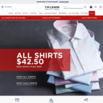 T.M. Lewin 40% off All Full Priced Suits
