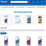 Samsung Galaxy S20 128GB $1197, S20+ 128GB $1347, S20+ 5G 128GB $1447 @ Officeworks