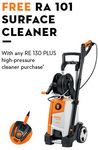 Stihl RE 130 PLUS Pressure Washer with Free RA 101 Surface Cleaner (Value $115.60) for $599 @ Stihl Dealer
