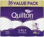 Quilton Toilet Tissue 36 Pack $14.84 (C&C) @ Chemist Warehouse