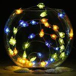 Multicolor Battery-Powered 3m String Lights, 40 LED $9.99 + Delivery ($0 with Prime / $39 Spend) @ Impress Life-AU Amazon
