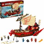 LEGO Destiny's Bounty Building Kit 71705 - $156.95 Delivered @ Amazon AU