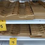Bamboo Knife Block $5 @ Target