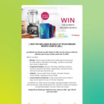 Win the Wellness Bundle of your Dreams from Just Blends and Vitamix