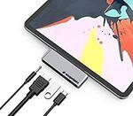 USB-C Hub iPad Pro $29.99 / USB-C Hub for MacBook Pro - HDMI/USB/PD/3.5mm $28.99 + Delivery ($0 Prime) @ Ezygadgetz via Amazon