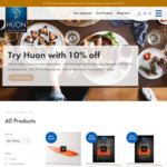 11% off Everything (Min. $30 Order) + $10 Delivery ($0 with $199 Orders) @ Huon Salmon