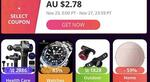 US$8 (~A$10.94) off Orders over US$80 (~A$109.41) Spend Coupon @ Aliexpress