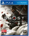 [PS4] Ghost of Tsushima $54, Death Stranding $19, Doom Eternal $19 @ JB Hi-Fi | Horizon Zero Dawn $12 @ Amazon