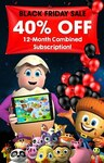 12 Month Combined Subscription (ABC Reading Eggs + ABC Mathseeds)  $83.90 @ Reading Eggs Shop