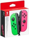 Nintendo Switch Joy-Con Controller Pair (Neon Green/Neon Pink) $84 + Shipping @ via Catch
