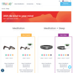 Muse 2 Headband $324.99, Muse S Sleep Band $468.98 & More - Delivered @ Muse