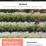 20% off Storewide @ Riot Wine Co