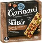 Carman's Nut & Muesli Bars 160-270g Pk 5/6 $3 @ Woolworths