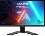 "Gigabyte G27Q 27"" 1440p 144Hz IPS FreeSync Premium Gaming Monitor $379 C&C /+ Delivery @ Mwave (+$50 EFTPOS Card (OOS))"
