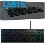 Logitech G815 RGB Mechanical Keyboard (GL Linear) $176 Delivered @ Harris Technology via Amazon AU