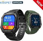Kospet Rock Rugged Smart Watch US$36.10 (~A$46.90) Delivered @ Kospet Official Store via AliExpress