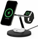Belkin 3-in-1 Wireless Charger for Apple Magsafe 15W $179 (Was $219) + $15 Shipping @ AusPCMarket